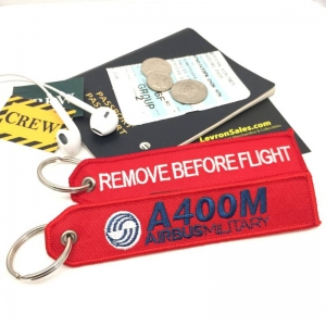 Airbus Military A400M Remove Before Flight tag