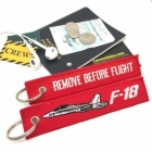 F-18 Super Hornet by Boeing Remove Before Flight tag