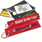 Red Arrow RAF Royal Air Force Remove Before Flight tag