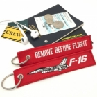 F-16 Fighting Falcon Remove Before Flight tag