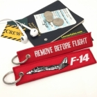 F-14 Tomcat by Grumman Remove Before Flight tag