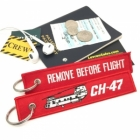 Boeing CH-47 Chinook Remove Before Flight tag