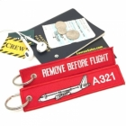 Airbus A321 Remove Before Flight tag
