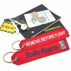 Rolls-Royce Aircraft Engine Remove Before Flight tag