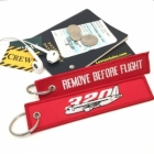 Airbus A320 Remove Before Flight tag