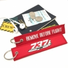 Boeing 737 Remove Before Flight tag