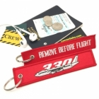 Airbus A330 Remove Before Flight tag