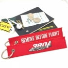 Airbus A380 Remove Before Flight tag