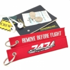 Boeing 747 Jumbo Queen of the Sky Remove Before Flight tag