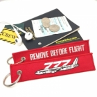 Boeing 777 Remove Before Flight tag