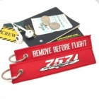 Boeing 757 Remove Before Flight tag