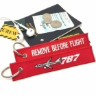 Boeing 787 Dreamliner Remove Before Flight tag