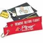 Piper Aircraft Remove Before Flight tag