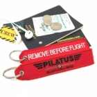 Pilatus Aircraft Remove Before Flight tag