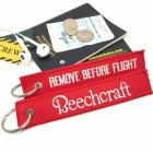 Beechcraft Remove Before Flight tag
