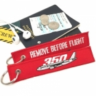 Airbus 350 Remove Before Flight tag