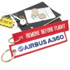 Airbus 350 (logo) Remove Before Flight tag