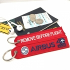 Airbus 40yrs Remove Before Flight tag
