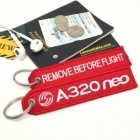 Airbus 320neo Remove Before Flight tag