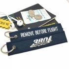 Airbus A380 Superjumbo Remove Before Flight tag