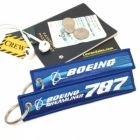 Boeing 787 blue logo Remvoe Before Flight tag