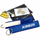 Airbus with Card ID slot back tag