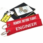 Engineer Remove Before Flight luggage bag tag keychain