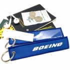 Boeing with Card ID slot back tag
